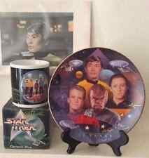 Star Trek 30th Anniversary Collectors Plate Starfleet Navigators #3315B 1997