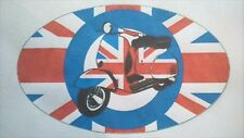 BRITISH MODS MOD SCOOTER SCOOTERIST iron on t shirt transfer A5