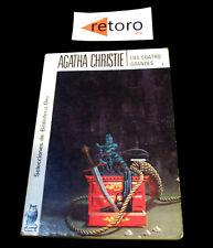 BOOK LIBRO LOS CUATRO GRANDES Agatha Christie Biblioteca Oro 284 Ed. 1983