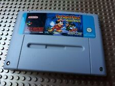 Super Nintendo Spiel Modul. Mickey Mouse The Magical Quest SNES PAL NOE N185