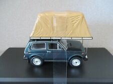1ST MODELS 1:43  1981 LADA NIVA with ROOF TENT...GREEN...rare colour!