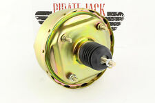 "7"" Single Power Brake Booster Zinc, Universal Street Rod Ford, Chevy"