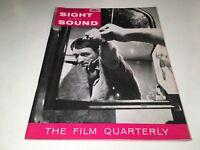 Sight And Sound Vintage Cinema Movie Magazine Winter 1962-63 Godard Art Film 60s