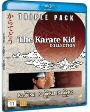 The Karate Kid Collection 1-3 Three Movie Set Blu-Ray Import BRAND NEW 1 2 3