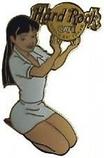 Hard Rock Cafe UYENO-EKI TOKYO 2003 Girls of Rock Series PIN GOR #1 WHITE V#2