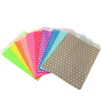 Paper Party Favour Bags Small Polka-Dots - Wedding Sweets, Craft, Card Gift Shop