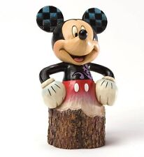 Disney Traditions Mickey Mouse Carved by Heart Figurine NEW in Box 19864