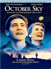 October Sky DVD Jake Gyllenhaal - like new, widescreen