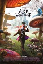 Alice in Wonderland Reg OrigINAL Movie Poster Double Sided 27x40 inches