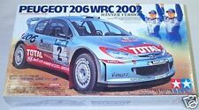 Tamiya 1/24 Peugeot 206 WRC 2002 Winner Version 24262