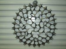 "MARC CREATES Style  23""  Brutalist Metal Wall Hanging Mid Century Modern"
