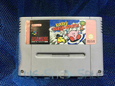 Kirby's Dream Course cartridge for Super Nintendo (SNES) systems