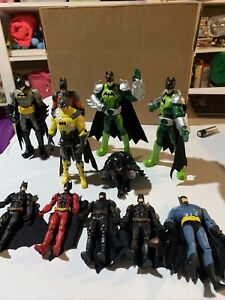 Batman Dc Comics Figure Lot Of 11 Assorted