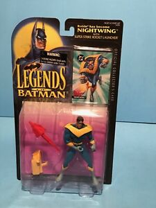 HASBRO LEGENDS OF THE DARK KNIGHT LAUGHING GAS JOKER ACTION FIGURE! NM!
