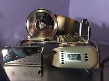 RIVAL VTG Electric CHROME Meat Cheese Food Slicer 1101E/4 Motor Vintage