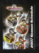NASCAR--2007 Nextel Cup Pocket Schedule--Nashville Superspeedway