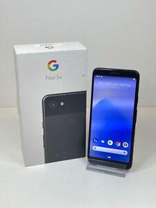 Google Pixel 3a, 64GB Storage, Just Black, Network Unlocked - Grade D