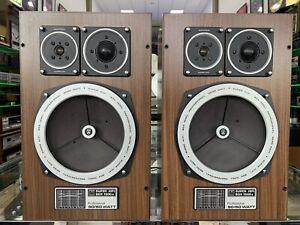 GRUNDIG Super HiFi BOX 1500A Professional Speaker 3Way 90Watts Vintage Good Look