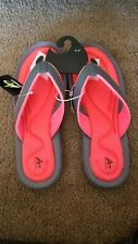 Athletech Womens Sandals Coral Dana 2 With Memory Foam Technology Size 9/10