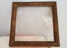 Old frame. Ancien cadre 9.84x9.84 inches 25x25 cm