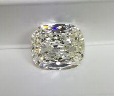 6.04ct Cushion Cut Loose Diamond HRD Certified I/VS2 + Free Ring