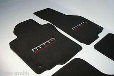 Original MTM alfombra coche audi a4 s4 rs4 b5 8d tapices set 4 pzas. negro