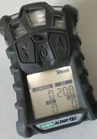 MSA Altair 4X, 4 Head Gas Monitor Detector With Charger/calibrated
