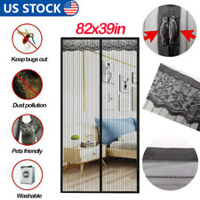 Magnetic Screen Door Mesh Hands-Free Net Block Mosquito Fly Insect Bug Curtain