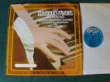 Classiques favoris du piano / Pierre Audon LP St Germain Des Prés St GDP 135501