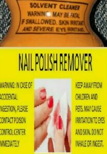 Solvent Cleaner Polish Remover - Small 10 Ml Size - Fast, Free RUSH Shipping