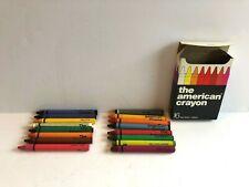 The American Crayon Company Sandusky Oh No 160 16 Color Vintage Usa Made 35 Cent