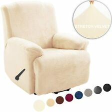 Stretch Recliner Covers/ Sofa Cover/ Loveseat Cover (velvet and fleece no lint)