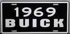 1969 BUICK METAL LICENSE PLATE RIVIERA WAGON ELECTRA LESABRE INVICTA SKYLARK GS