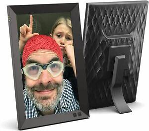 NIX 10.1 Inch Digital Picture Frame (Non-WiFi) - Portrait or Landscape Stand, HD