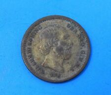 1850 Netherlands 5 cents silver coin Willem III
