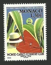 MONACO 2003 SPORT TENNIS MASTERS CHAMPIONSHIPS FLOWERS LEAVES SET MNH