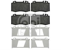 Febi 16454 Brake Pad Set Front C.Class CLK S.Class SL SLK Mercedes 0054209520