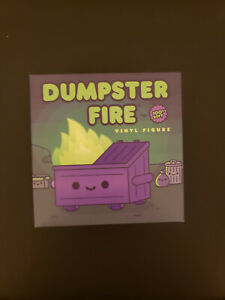 IN HAND EVIL TRASH MISTRESS Dumpster Fire GLOW Entertainment Earth Exclusive