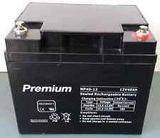 AGM deep cycle 40AH 12V  battery for scooter, wheel chair, golf buggy, camping