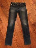 AG Adriano Goldschmied Jeans Premiere Skinny Straight 6 Years AG-ed Wash 27 x 32