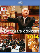 NEW YEAR'S CONCERT 2014 (NEW BLU-RAY)