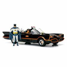 Jada Toys Hollywood Rides Classic TV Series Batmobile Die-Cast Vehicle with Batman Die-Cast Figure 1:24 Scale 8+ Age, Primer Black