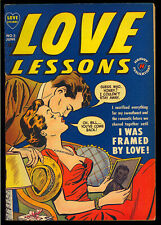 Love Lessons #5 Nice Pre-Code Golden Age Harvey Comic 1950 FN+