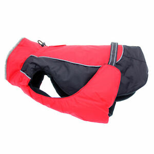 Doggie Design  Alpine All-Weather Dog Coat - Red and Black  XS-5XL