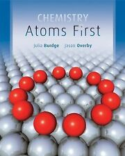 NEW Chemistry: Atoms First by Burdge, Overby Hardcover with Online access code