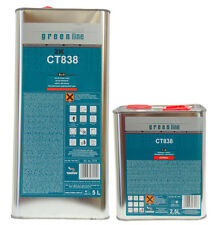 QUALITY 2-PACK 2K MS CLEARCOAT KIT 7.5 LTRS EUROPEAN MADE.MEDIUM OR FAST HARDENR
