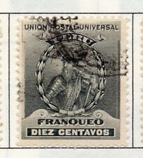 Peru 1895-1902 Early Issue Fine Used 10c. 182264