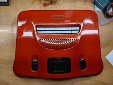 Nintendo 64 Console *PAINTED* Flame Red/Burgandy