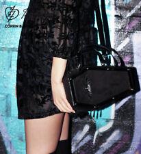 IRON FIST Bat Royalty Coffin Bag Black Goth Handbag RARE Ladies Womens