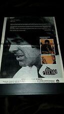 Warren Beatty Shampoo Rare Academy Awards Promo Poster Ad Framed!